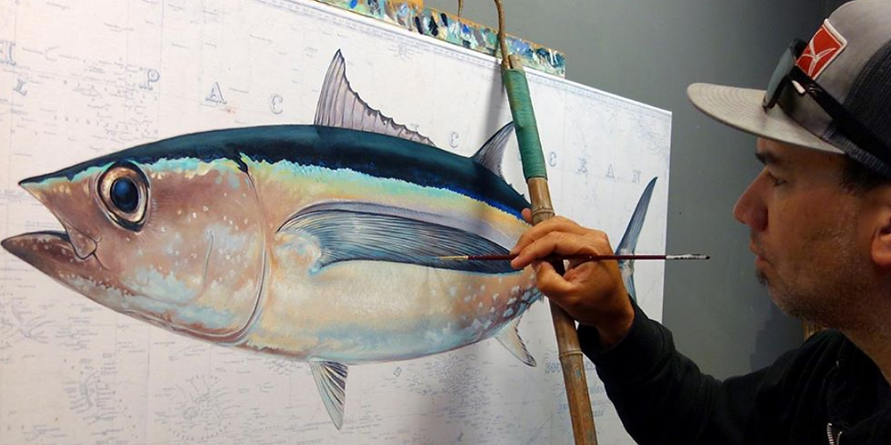 Learn to Draw Fish with Salty Crew Artist Amadeo Bachar