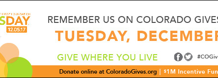 Colorado Gives Day - Dec 5th