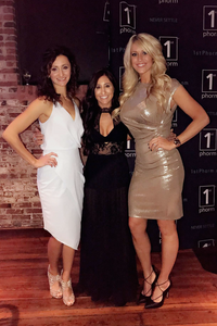 Mindy Musselman, Alyse Scaffidi and Emily Frisella, a night out in St. Louis with the Supplement Superstores and 1st Phorm crew