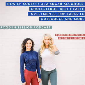 Q&A Sugar Alcohols, Cholesterol, Best Health Investments, Top Tasks to Outsource and more