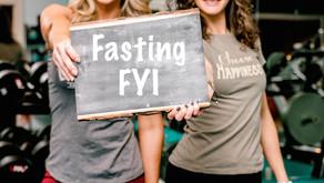 Intermittent Fasting FYI
