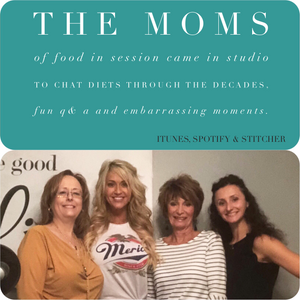 "Karen, Emily, Kathy and Mindy recording ""The Moms of FIS"" episode"