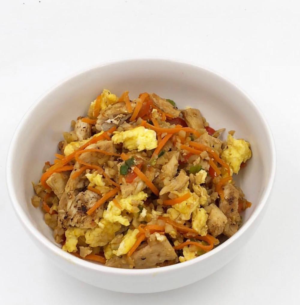 Emily's Cauliflower Fried Rice aka Cauli-fried Rice