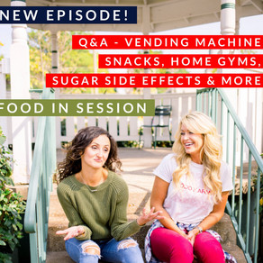 Q&A Vending Snacks, Home Gyms, Sugar Side Effects & More