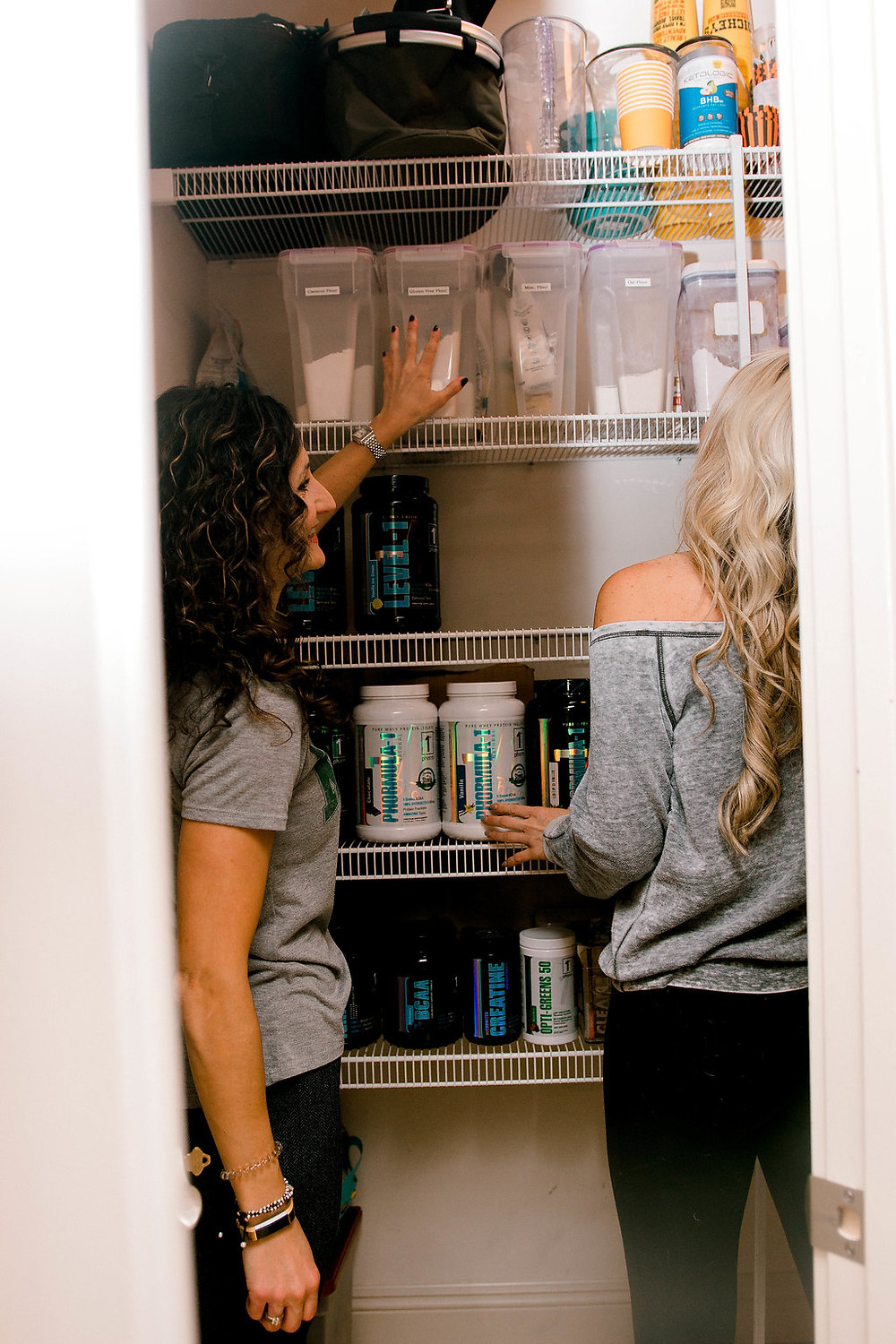 Organizing the pantry for a healthy New Year