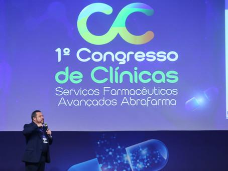 Desenvolvimento dos serviços farmacêuticos é destaque no 1º Congresso de Clínicas da Abrafarma