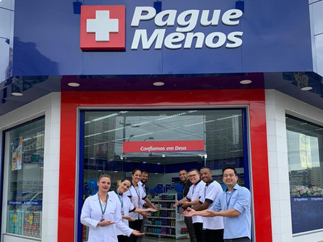 Rede de farmácias Pague Menos inaugura loja em Campinas