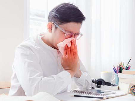 Saiba como evitar a gripe de verão