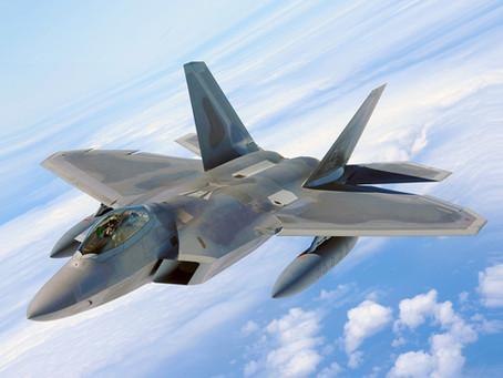 Aviões de caça cruzam a Síria
