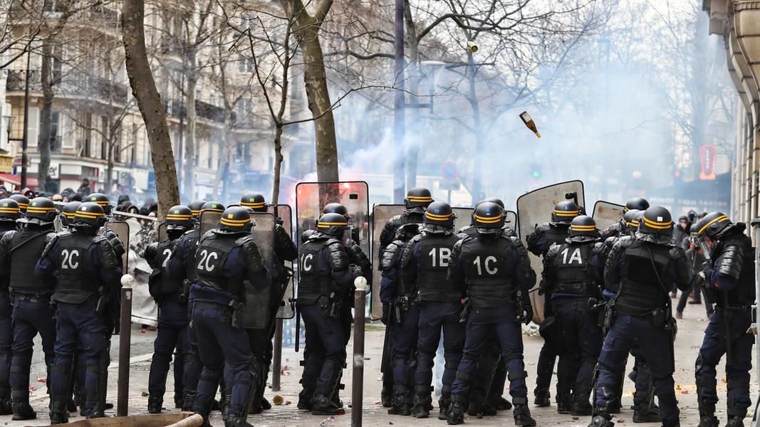 Demonstrations across EU break out