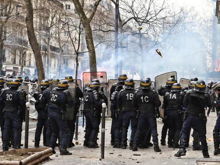 Demonstrationen in ganz Europa