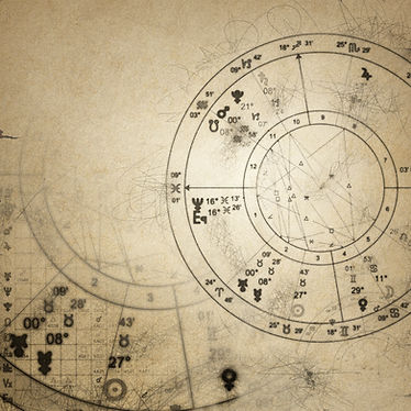 A cropped image of a birth chart