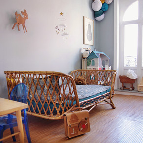 Natural Style for Kids Room
