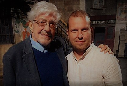 Marco with Ettore Scola