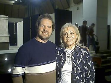 Marco with Mirella Freni