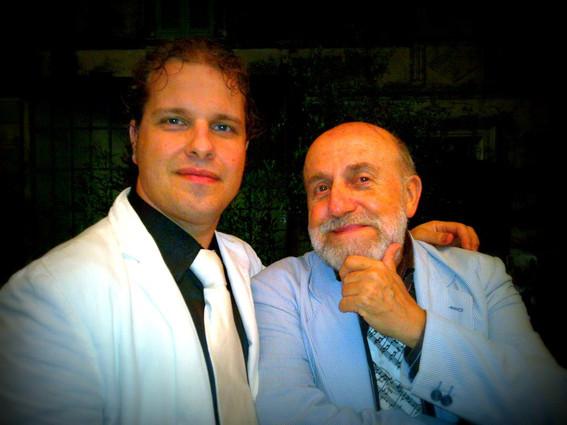 Marco with Enrico Beruschi