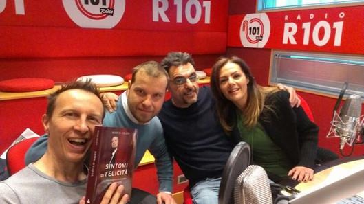 Marco with Militello, Cavallone e Sara Calogiuri