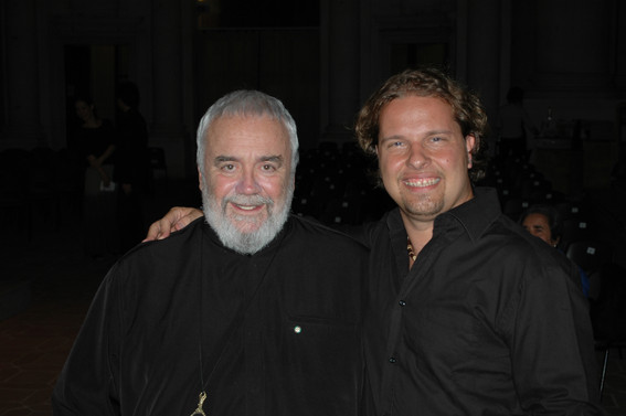 Marco with Gian Luigi Gelmetti
