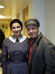 Marco with Anna Netreb