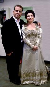 Marco with Mariella Devia