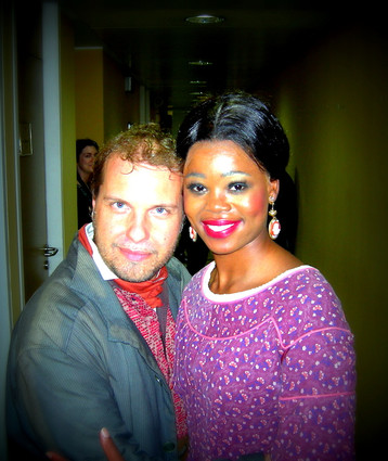 Marco with Pretty Yende