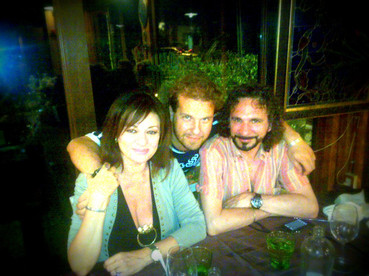 Marco with Daniela Dessì and Fabio Armiliato