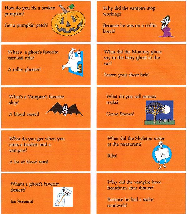 Kidfunideas.com super fun Halloween jokes