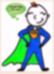Kidfunideas.com Tip Hero Mascot picture