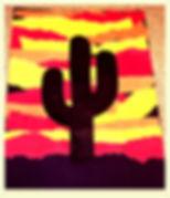 Kidfunideas.com Western sunset craft for kids