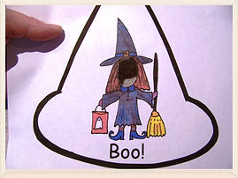 Kidfunideas.com mean old witch mini book for Halloween