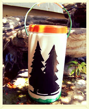 Kidfunideas.com camping lantern craft for kids