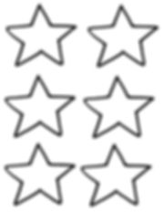Kidfunideas.com New Year's lucky lanter star pattern template