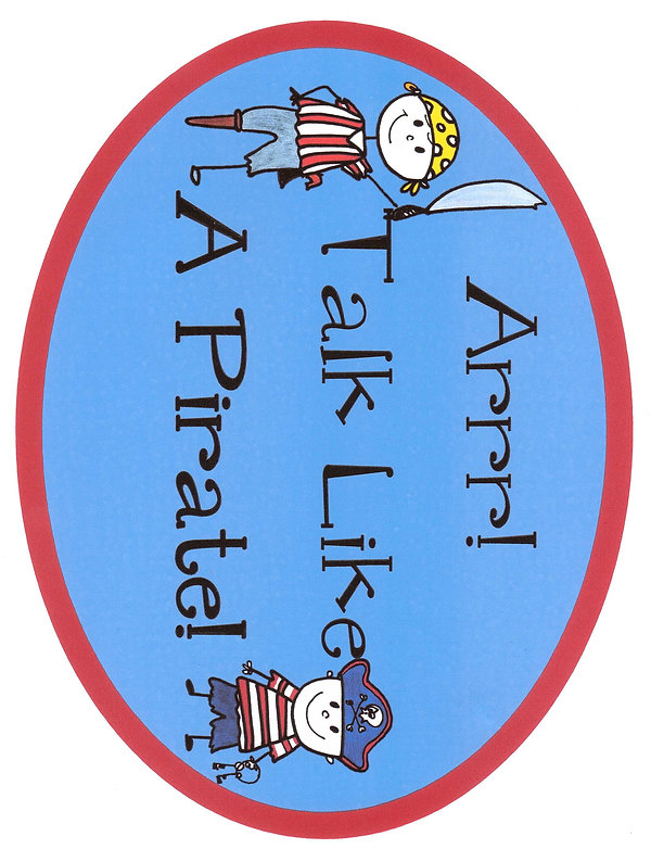 Kidfunideas.com Talk like a pirate day craft for kids