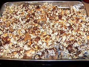kidfunideas.com S'more popcorn recipe