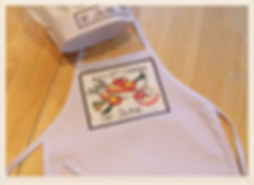 Kidfunideas.com Little Chef Apron craft for kids to make.  Kid's cooking craft