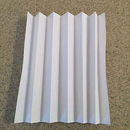 Kidfunideas.com paper snowflake craft picture of how to accordion fold the paper