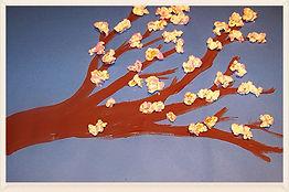 Kidfunideas.com spring tree blossom craft for kids