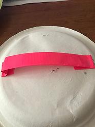 kidfunideas.com paper plate ball toss