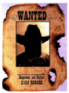 Kidfunideas.com Wanted poster template