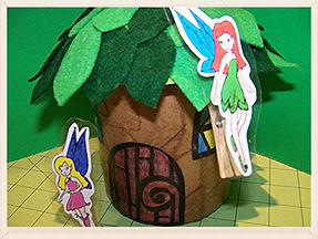 Kidfunideas.com my little fairy craft for kids