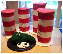 Dr. Seuss Cat in the Hat Hats