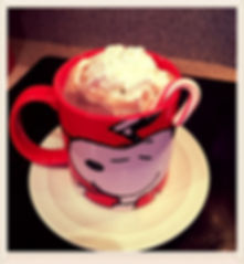 Kidfunideas.com warm and creamy hot coco picture of coco with whipped cream