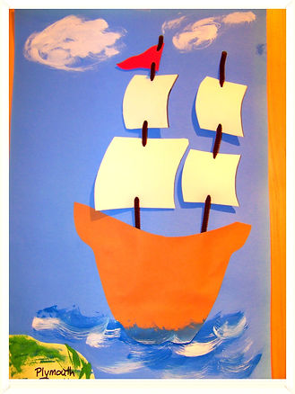 Kidfunideas.com Mayflower Ship craft for kids