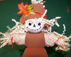 Scarecrow pencil topper