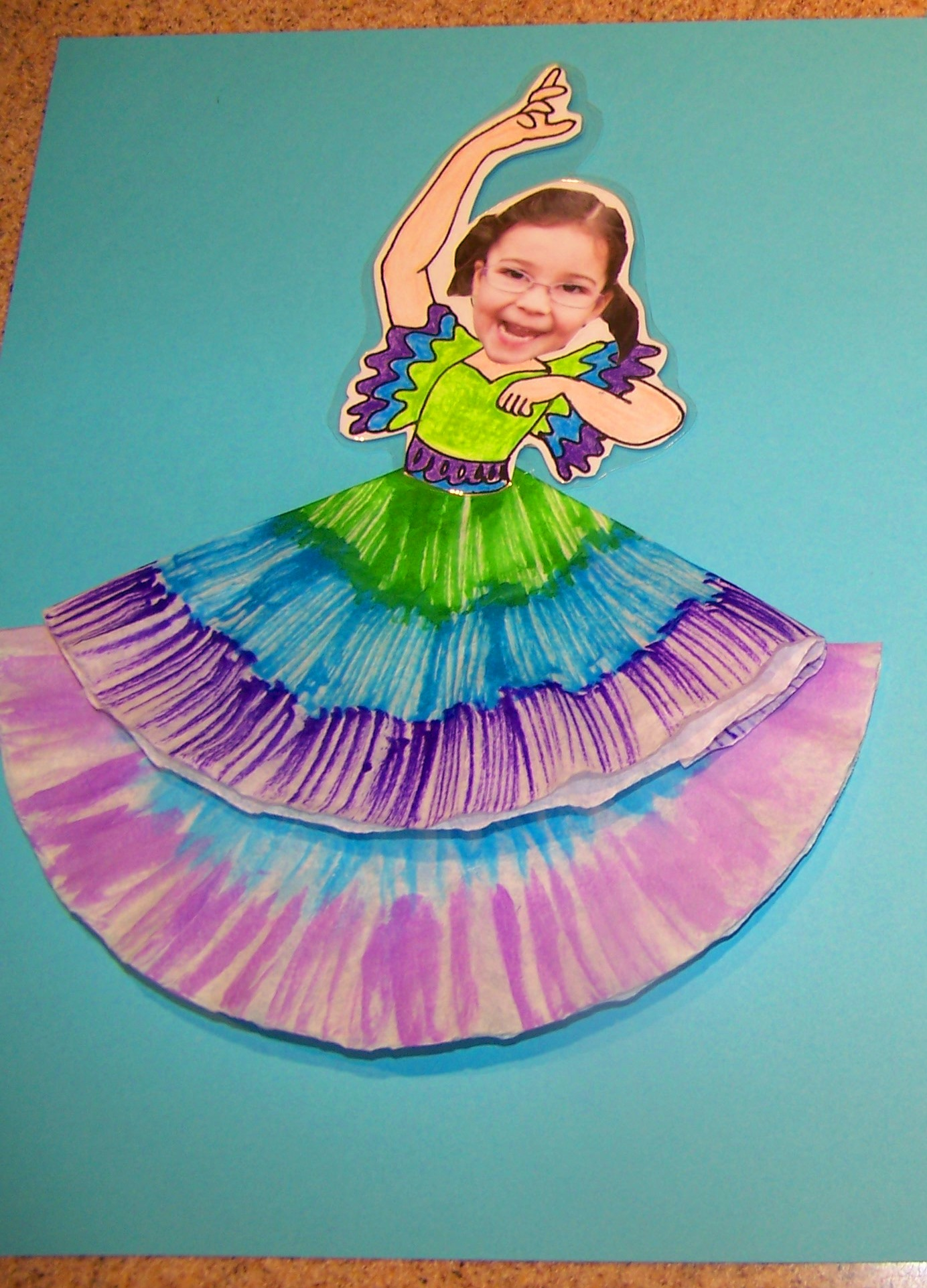 Spanish Dancer Craft
