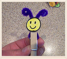 Kidfunideas.com butterfly snack for kids