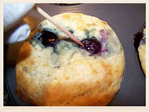 blue berry muffin recipe from Kidfunideas.com