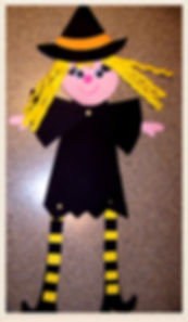Kidfunideas.com cute Halloween witch craft for kids