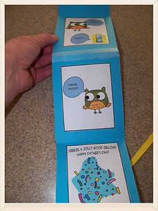 Kidfunideas.com knock knock joke card for kids to make for Father's day