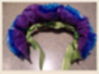 Kidfunideas.com Hawaiian headdress craft for kids